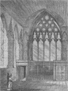 ELY PLACE. Ely chapel in 1800. London c1880 old antique vintage print picture